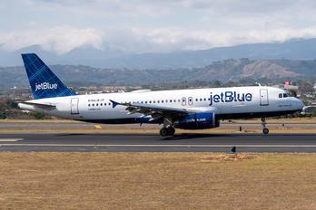 N766JB - JetBlue Airways Airbus A320