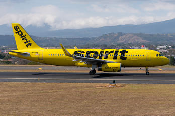 N623NK - Spirit Airlines Airbus A320