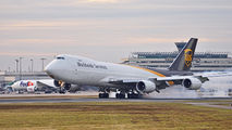 N612UP - UPS - United Parcel Service Boeing 747-8F aircraft