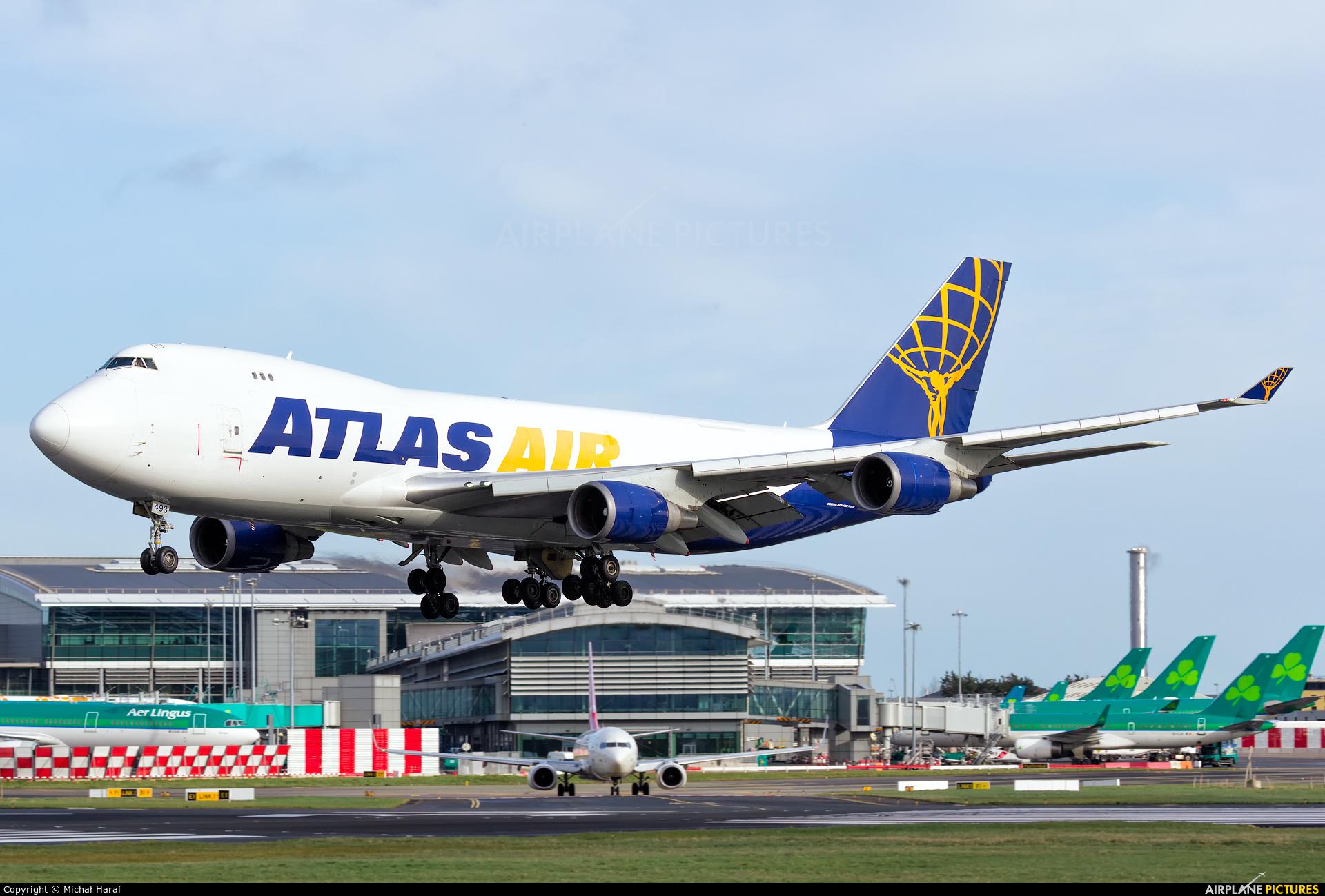 Atlas Air N493MC aircraft at Dublin