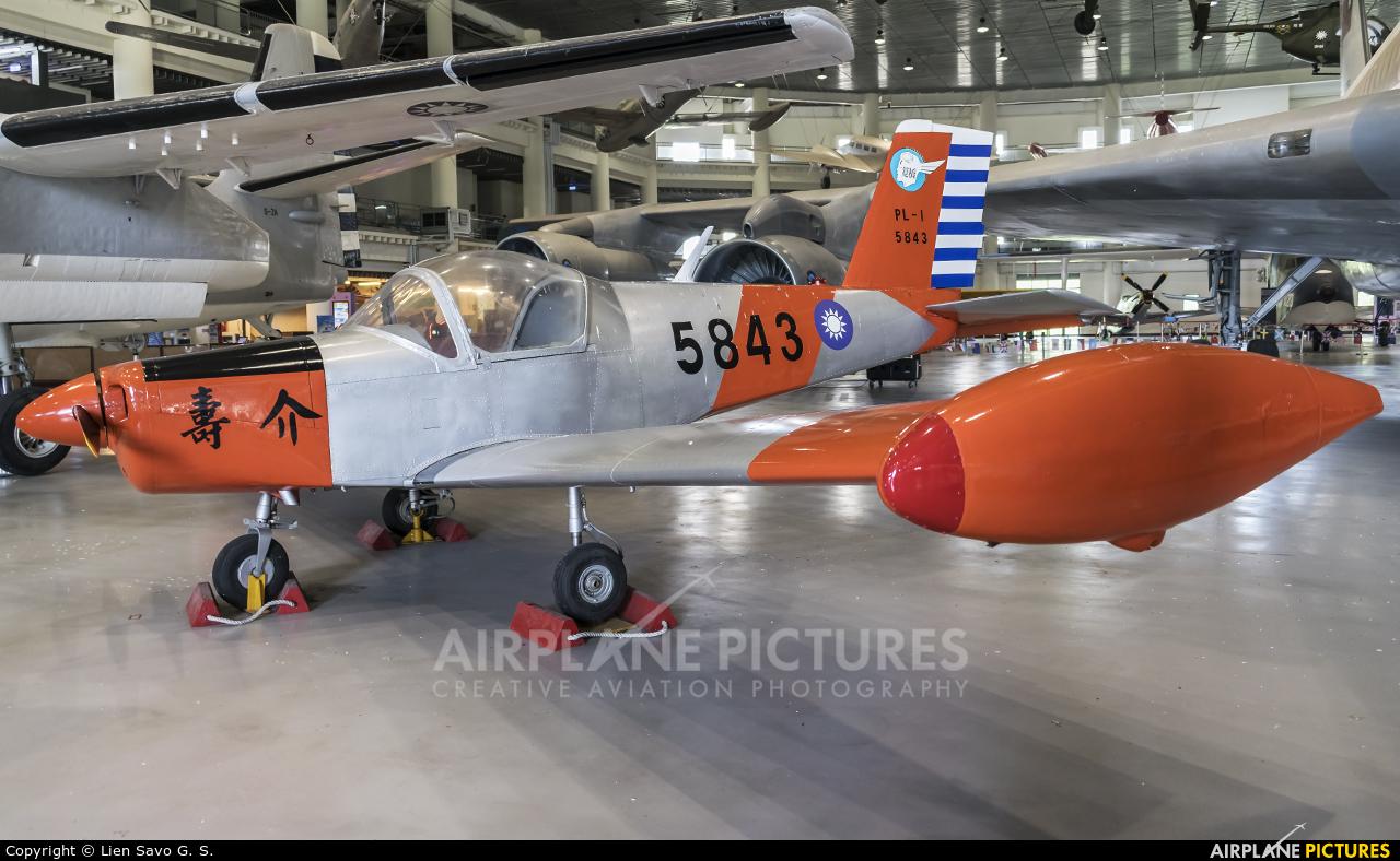 Taiwan - Air Force 5843 aircraft at Kangshan/Gangshan AB