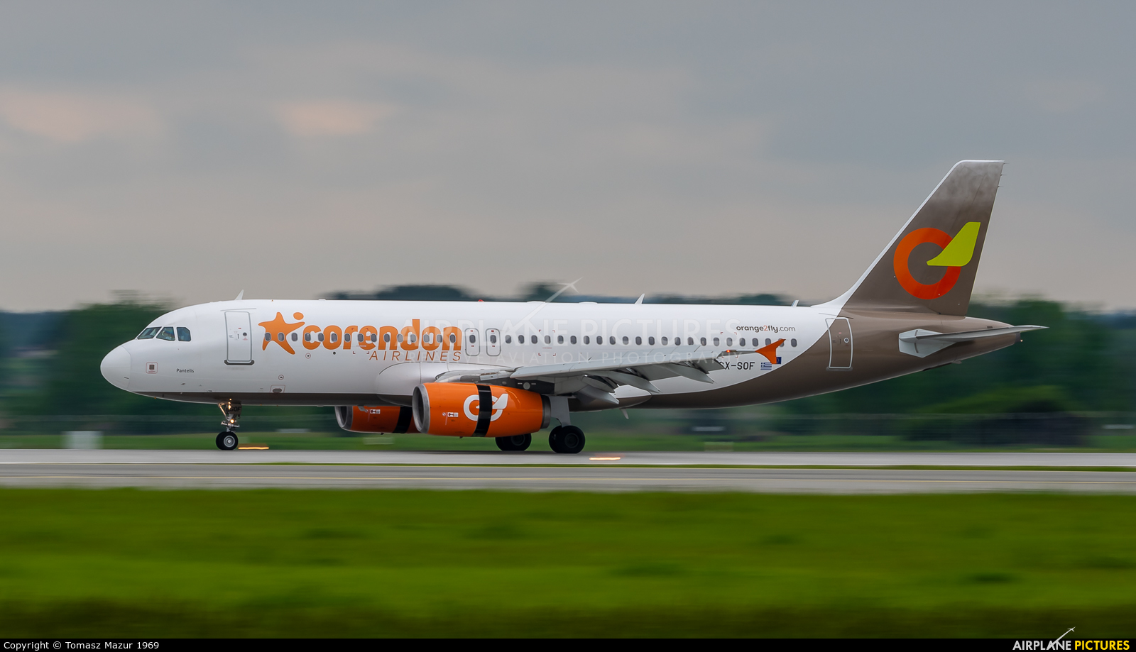 Corendon Airlines SX-SOF aircraft at Katowice - Pyrzowice