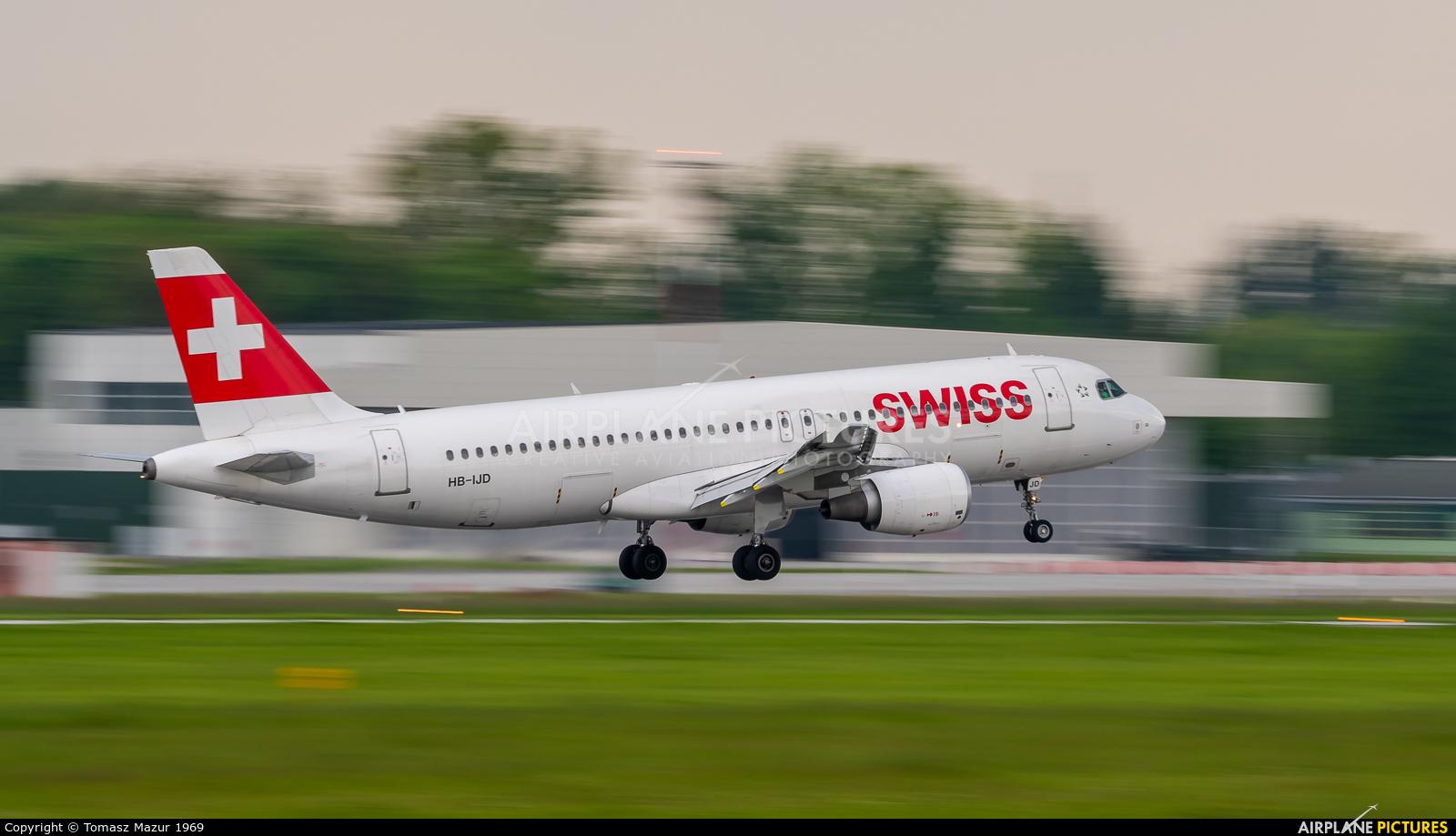 Swiss HB-IJD aircraft at Kraków - John Paul II Intl