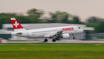 HB-IJD - Swiss Airbus A320 aircraft
