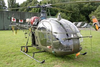 A61 - Belgium - Air Force Sud Aviation SA-313 / 318 Alouette II (all models)