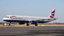 G-MEDL - British Airways Airbus A321 aircraft