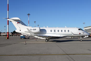 YU-GSF - Private Bombardier BD-100 Challenger 300 series