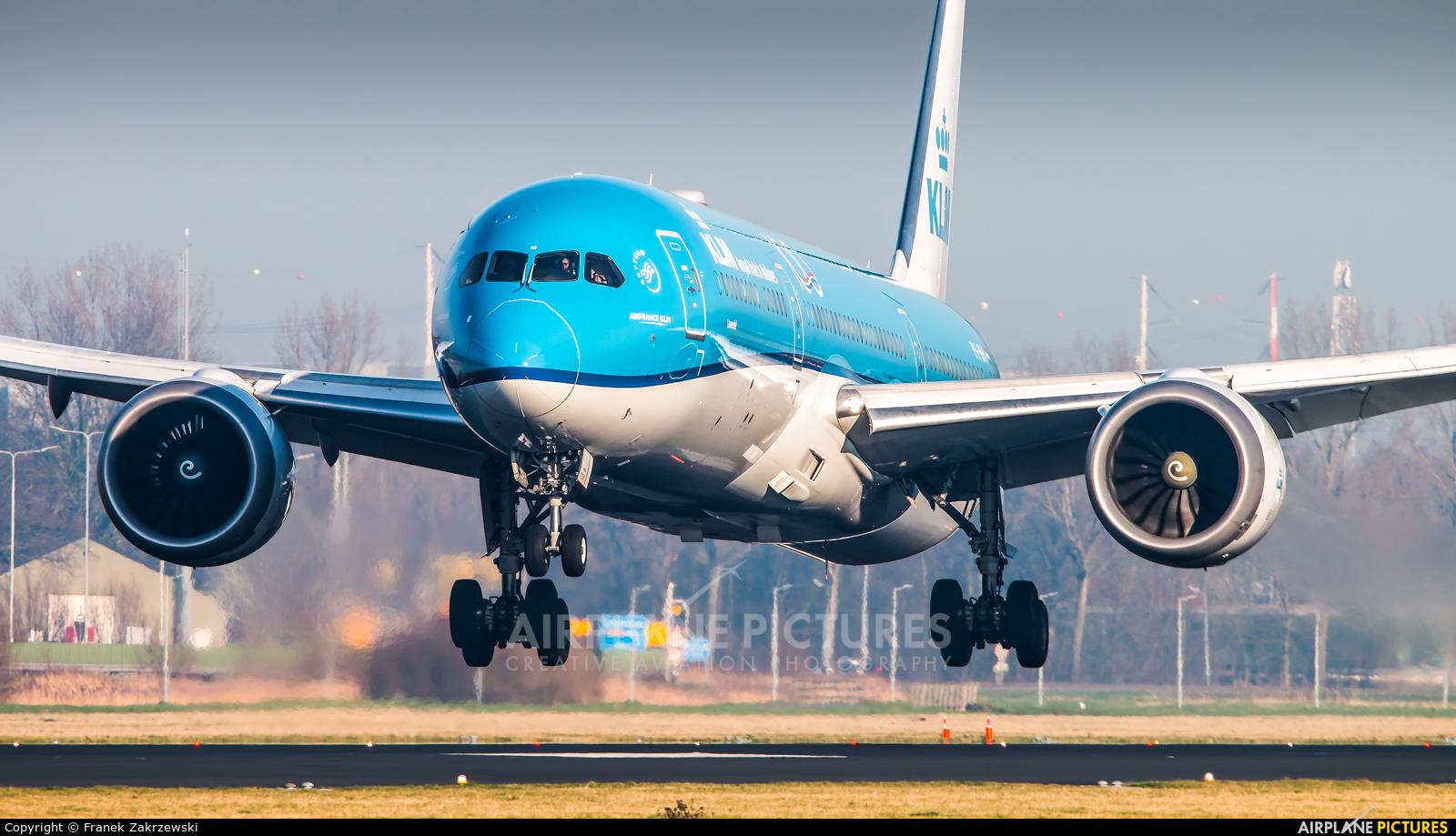 KLM PH-BHI aircraft at Amsterdam - Schiphol