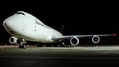 N606UP - UPS - United Parcel Service Boeing 747-8F