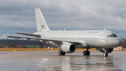 605 - Hungary - Air Force Airbus A319