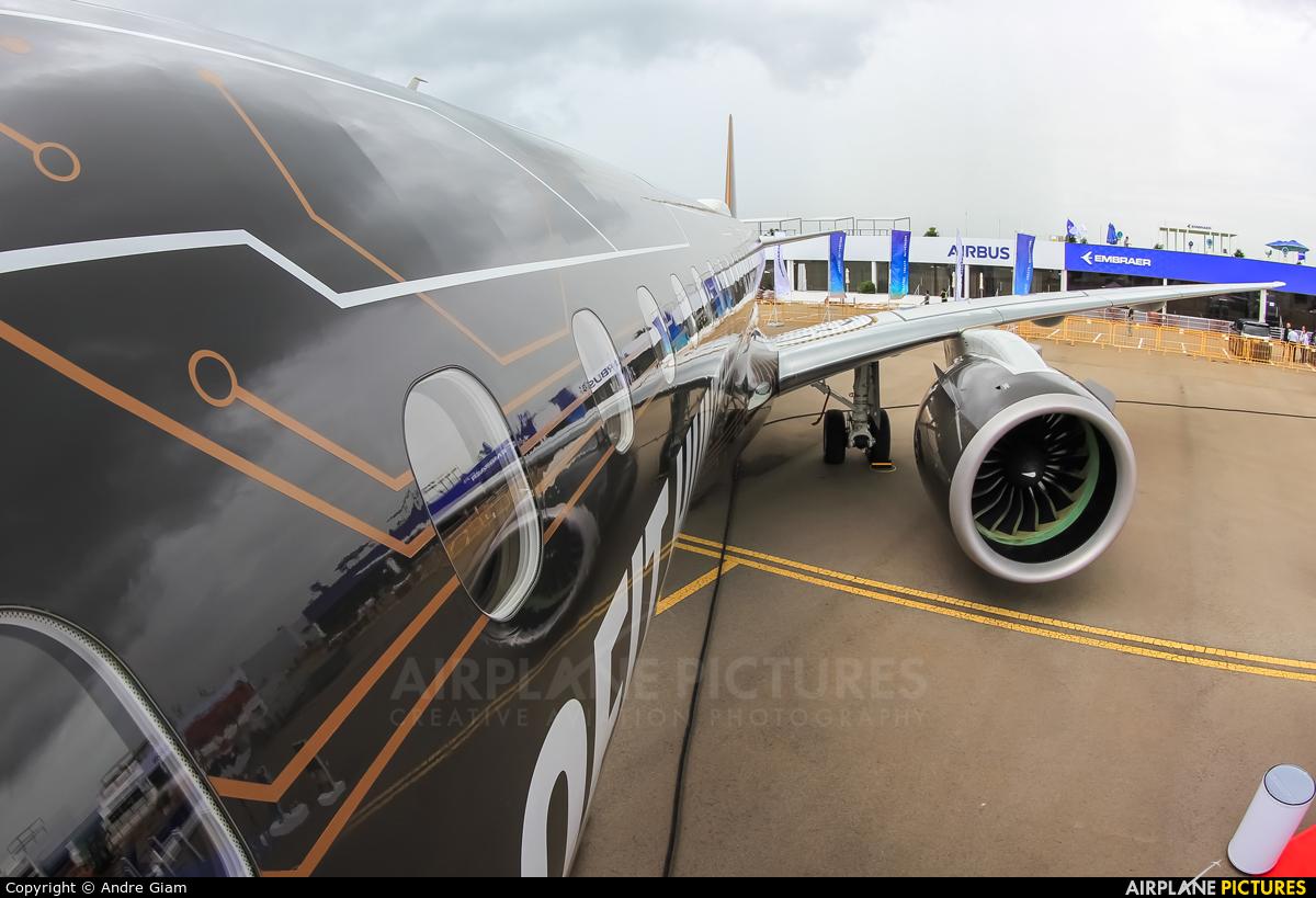 Embraer PR-ZIQ aircraft at Singapore - Changi