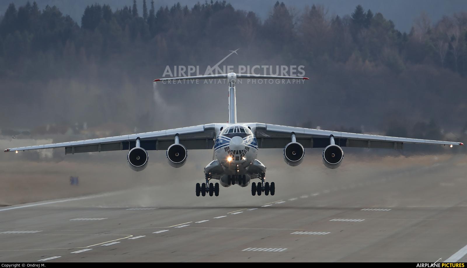 Volga Dnepr Airlines RA-76951 aircraft at Sliač