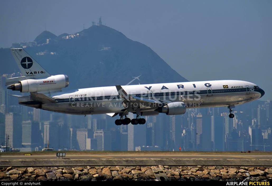 VARIG PP-VOP aircraft at HKG - Kai Tak Intl CLOSED
