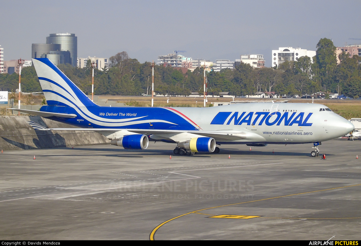 National Airlines N952CA aircraft at Guatemala - La Aurora