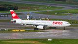 Swiss Airbus A330-300 HB-JHF at Zurich airport