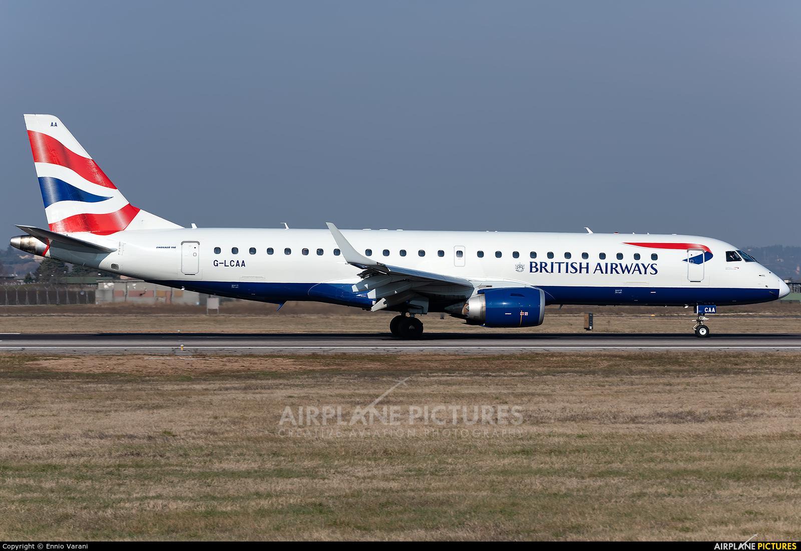 British Airways - City Flyer G-LCAA aircraft at Verona - Villafranca