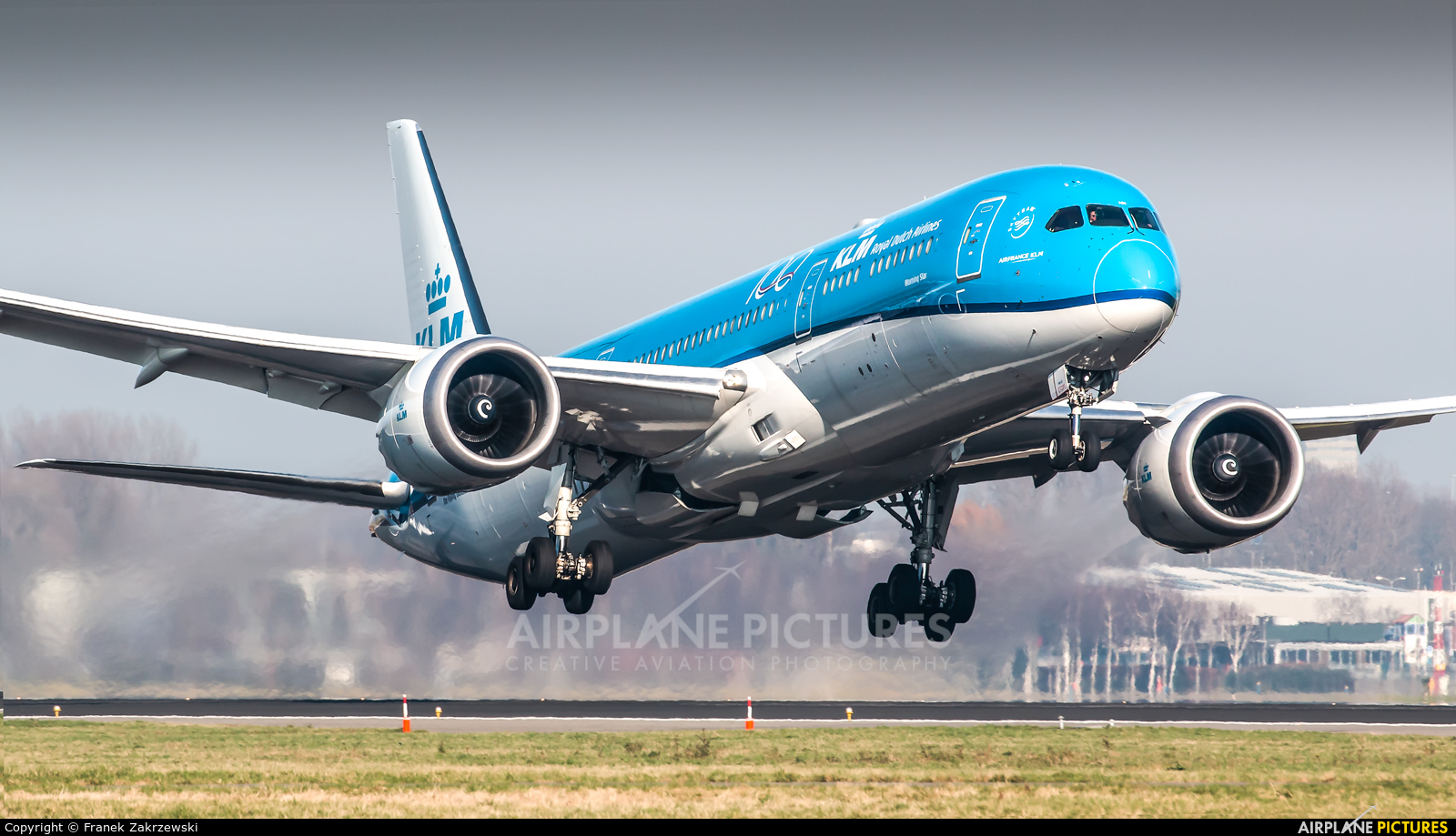 KLM PH-BHN aircraft at Amsterdam - Schiphol