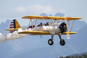SP-YWW - - Airport Overview Boeing Stearman, Kaydet (all models)