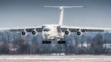 Yuzhmashavia Ilyushin Il-76 (all models) UR-CPV at Pardubice airport