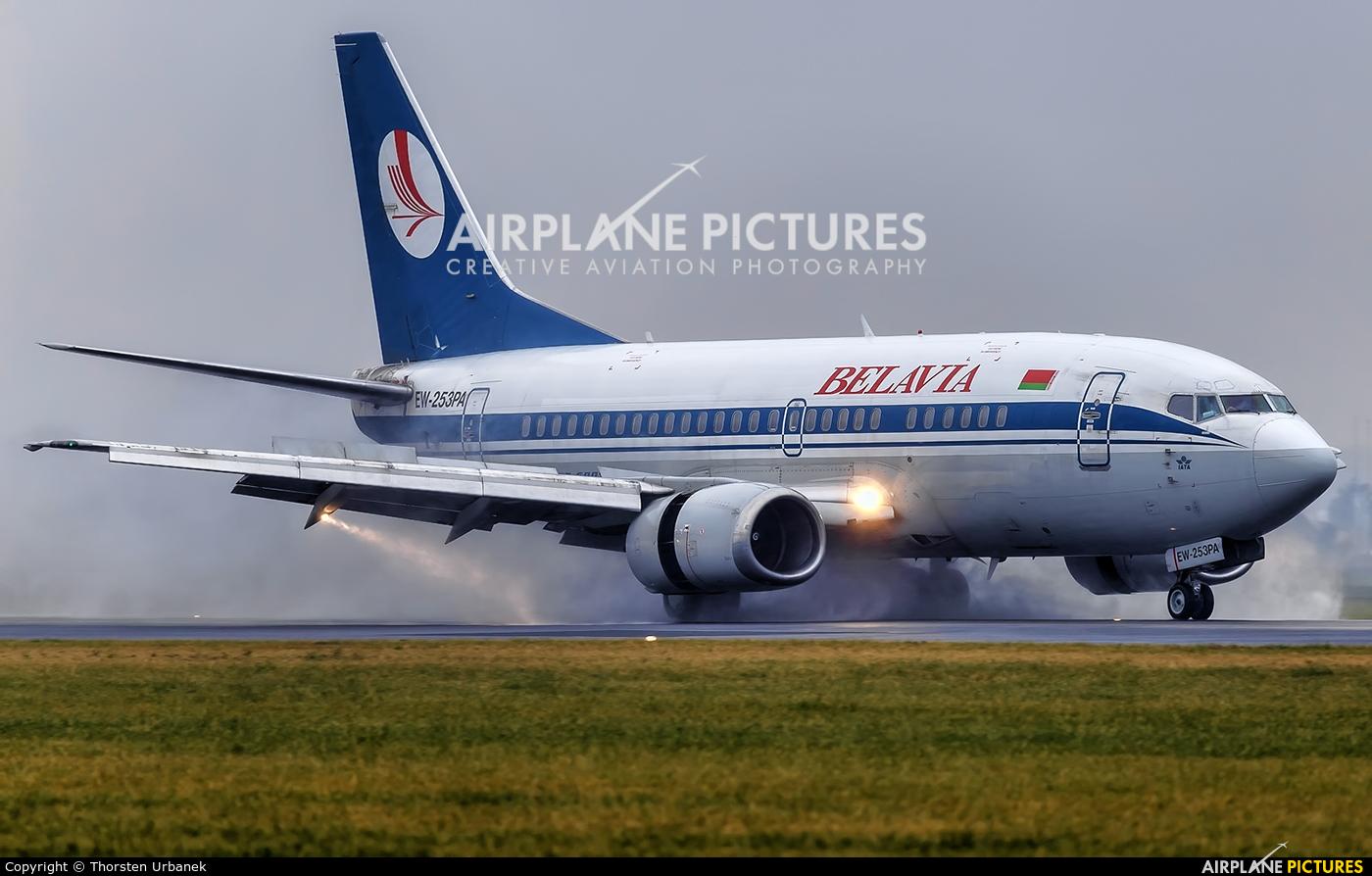 Belavia EW-253PA aircraft at Amsterdam - Schiphol