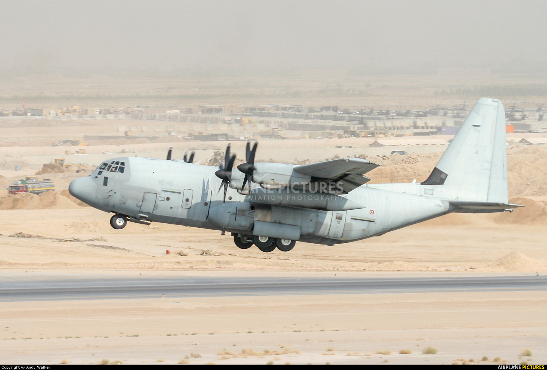 Italy - Air Force MM62180 aircraft at Kandahar