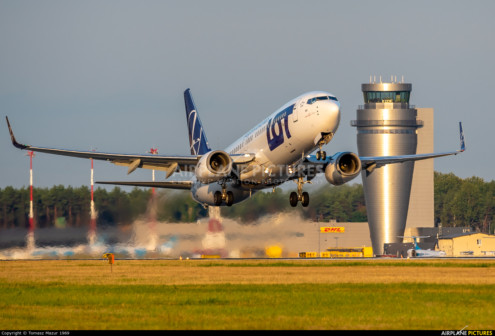 LOT - Polish Airlines SP-LWB aircraft at Katowice - Pyrzowice