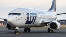 SP-LWA - LOT - Polish Airlines Boeing 737-800 aircraft