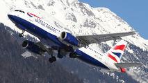 G-EUUS - British Airways Airbus A320 aircraft