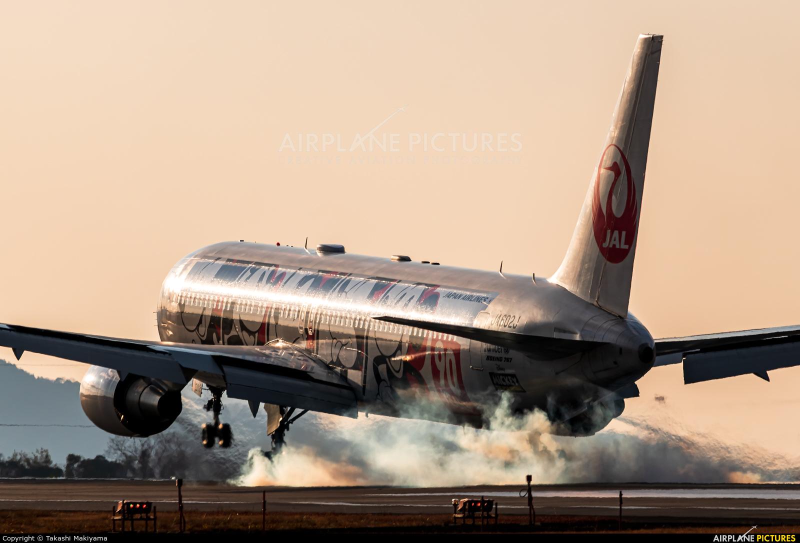 JAL - Japan Airlines JA602J aircraft at Takamatsu