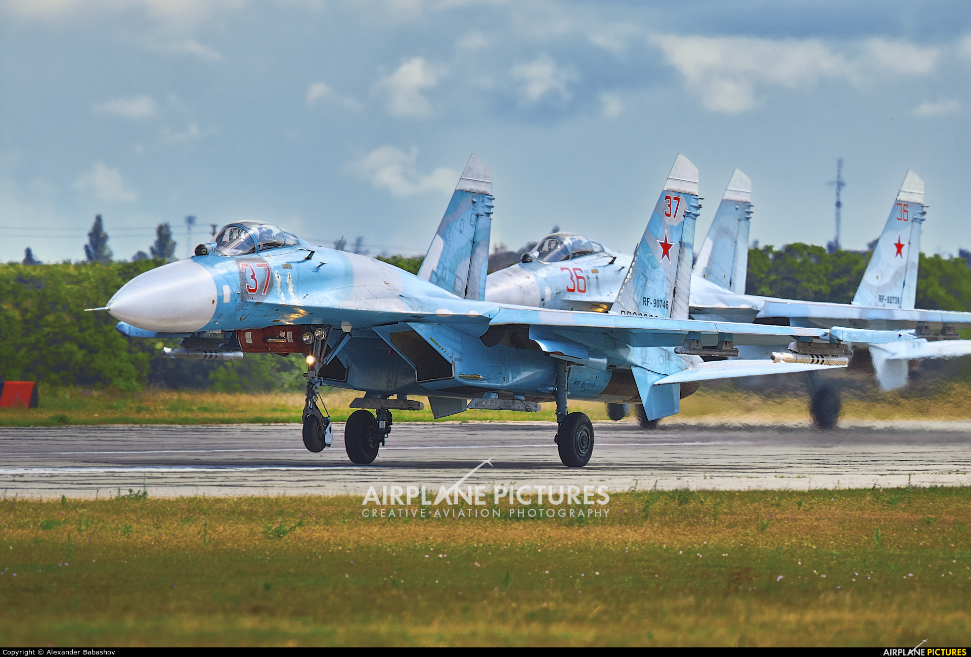 Russia - Air Force 37 aircraft at Undisclosed Location