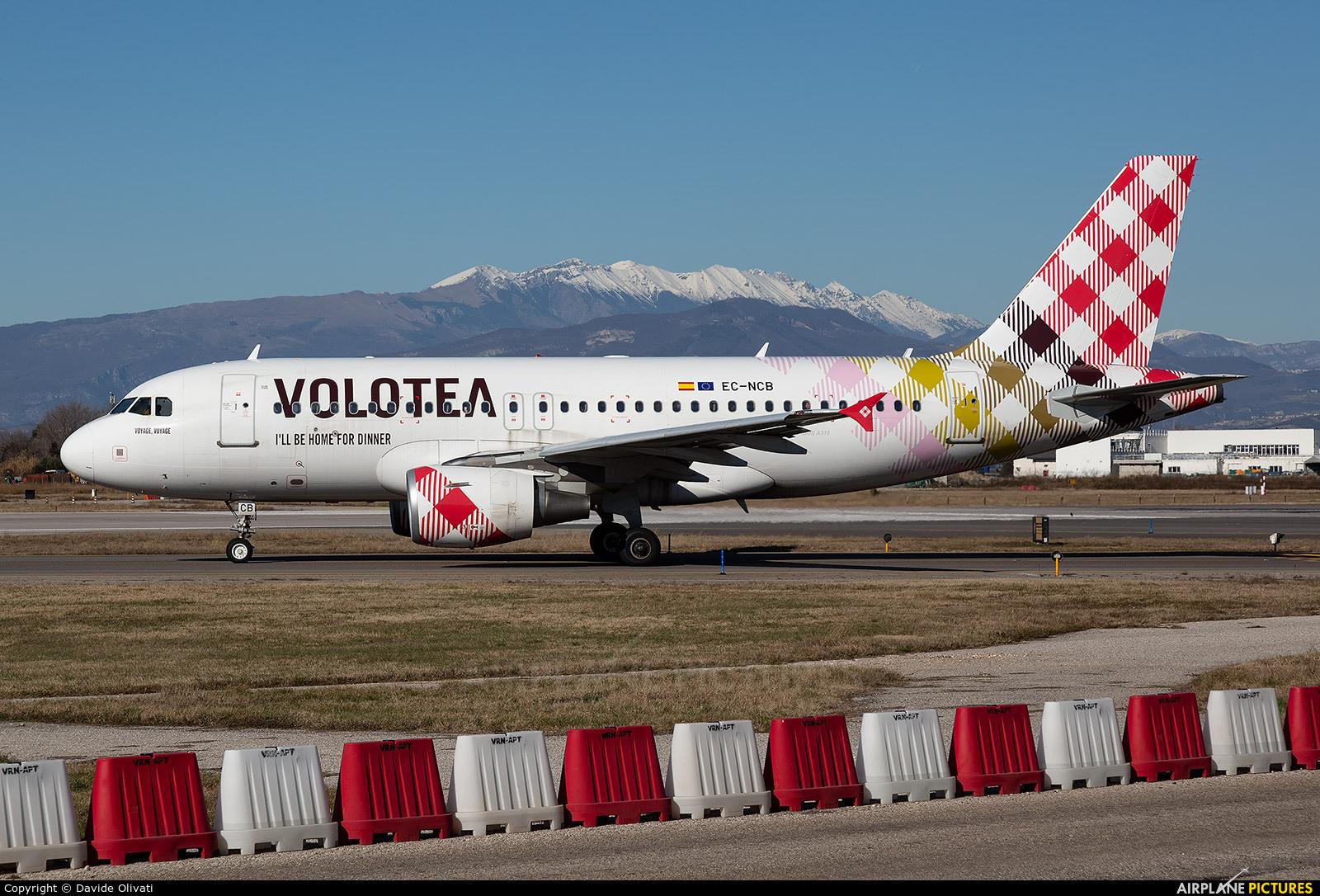 Volotea Airlines EC-NBC aircraft at Verona - Villafranca