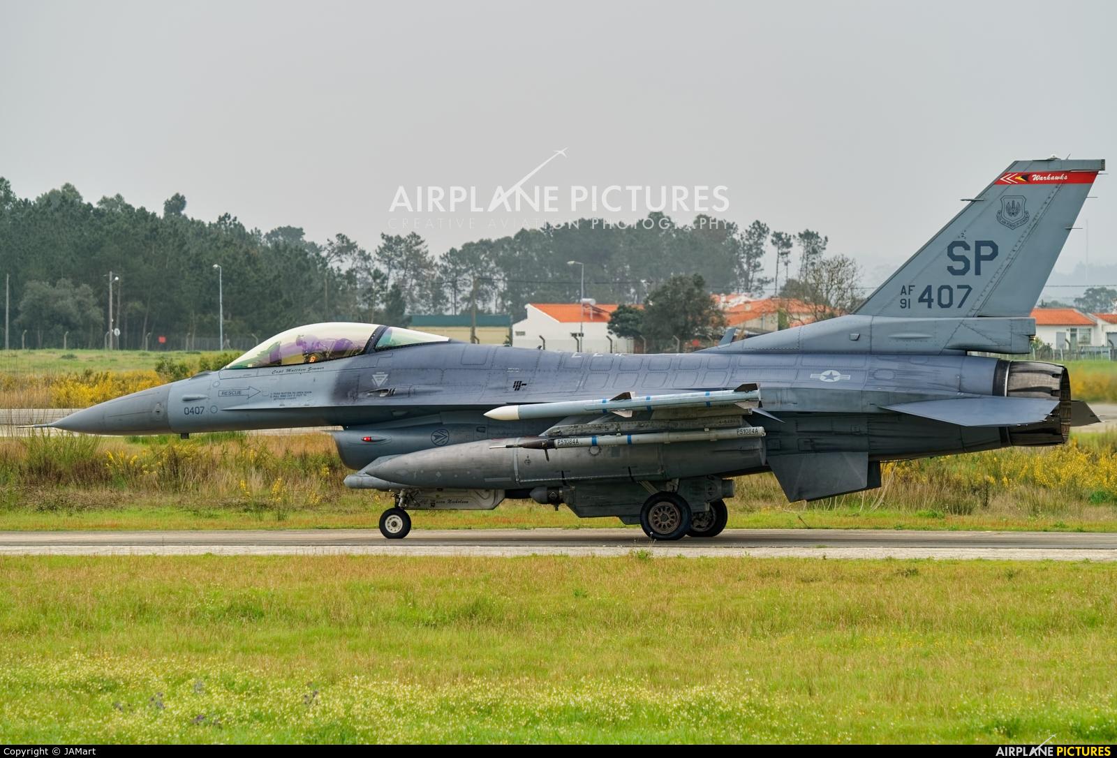 USA - Air Force 91-0407 aircraft at Monte Real