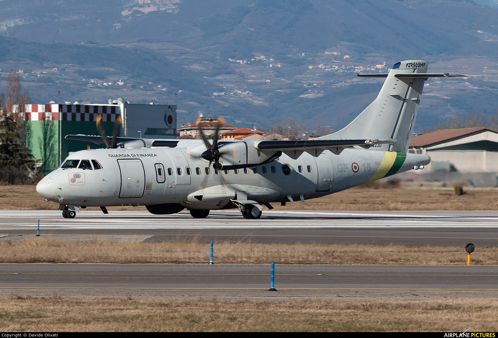 Italy - Guardia di Finanza MM62230 aircraft at Verona - Villafranca