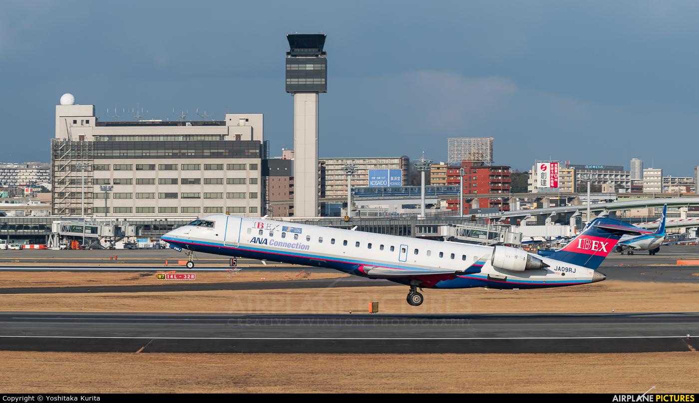Ibex Airlines - ANA Connection JA09RJ aircraft at Osaka - Itami Intl