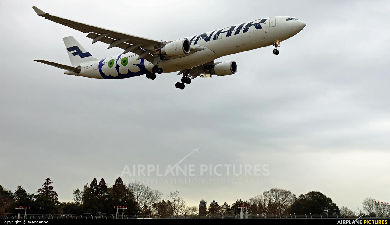 Finnair OH-LTO aircraft at Tokyo - Narita Intl