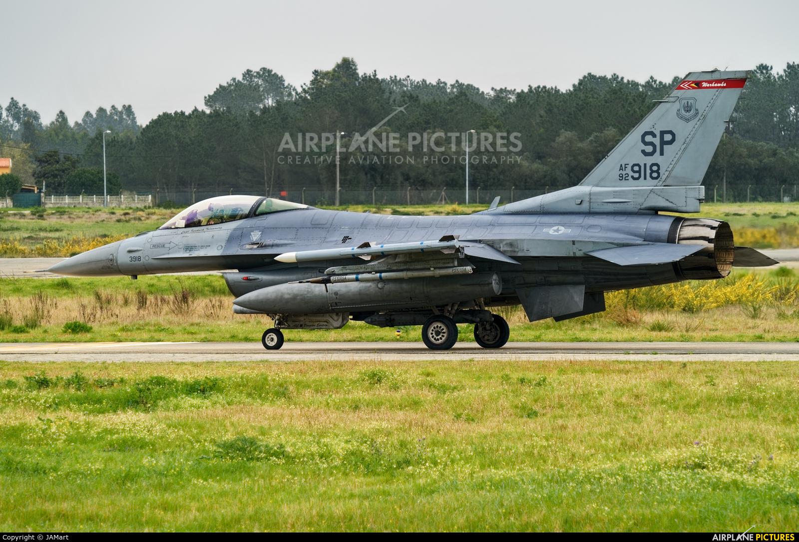 USA - Air Force 92-3918 aircraft at Monte Real