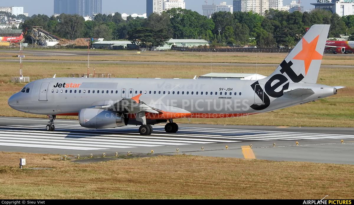 Jetstar Asia 9V-JSH aircraft at Ho Chi Minh City - Tan Son Nhat Intl