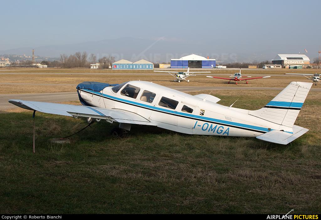 Private I-OMGA aircraft at Verona - Boscomantico