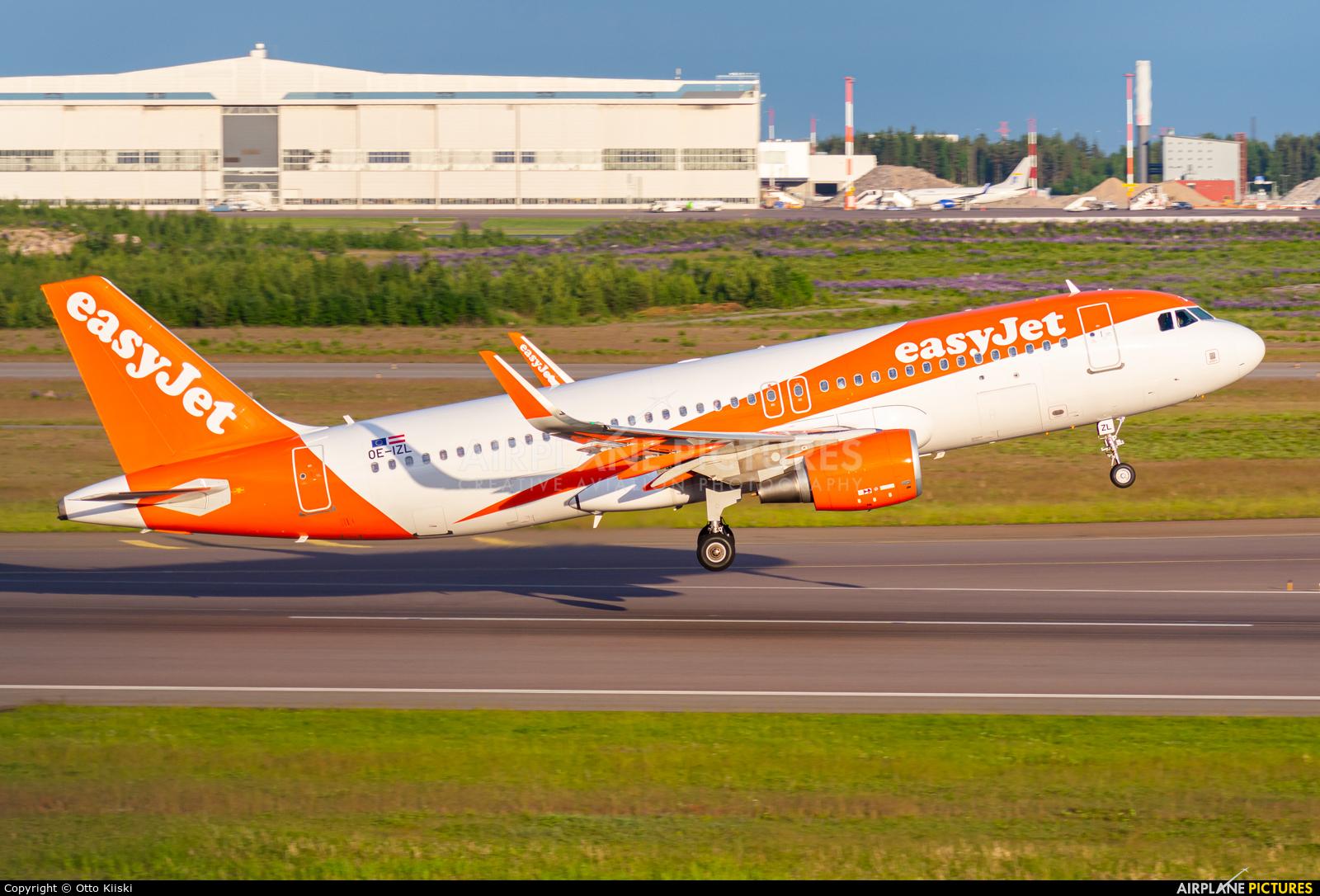 easyJet Europe OE-IZL aircraft at Helsinki - Vantaa