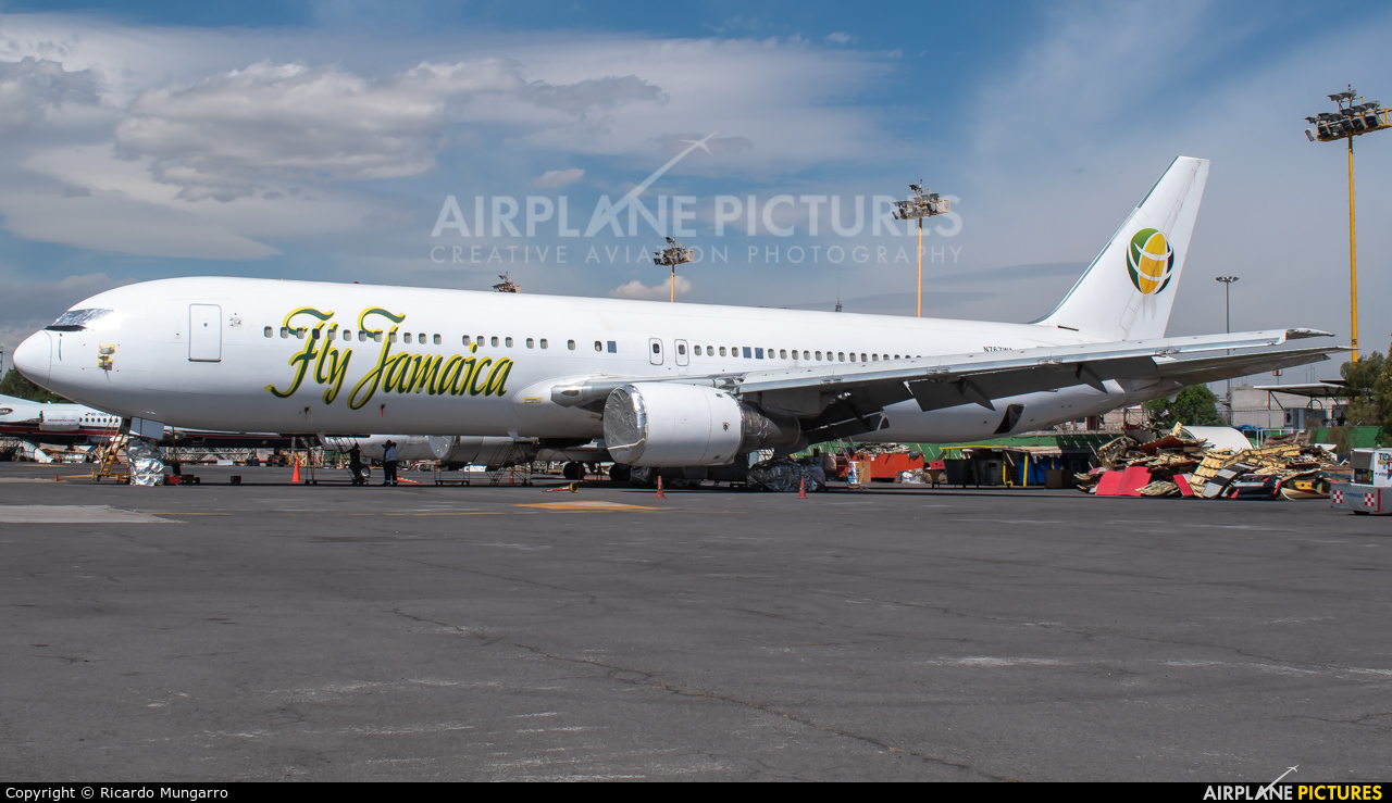 Fly Jamaica N767WA aircraft at Mexico City - Licenciado Benito Juarez Intl