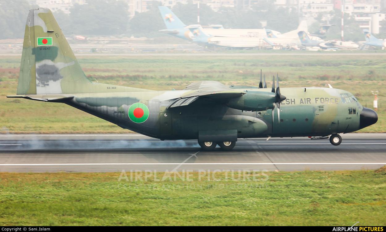 Bangladesh - Air Force S3-AGD aircraft at Dhaka - Hazrat Shahjala Intl