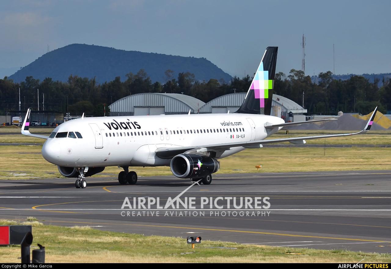 Volaris XA-VLR aircraft at Mexico City - Licenciado Benito Juarez Intl