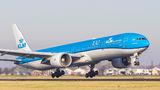 KLM Boeing 777-300ER PH-BVF at Amsterdam - Schiphol airport