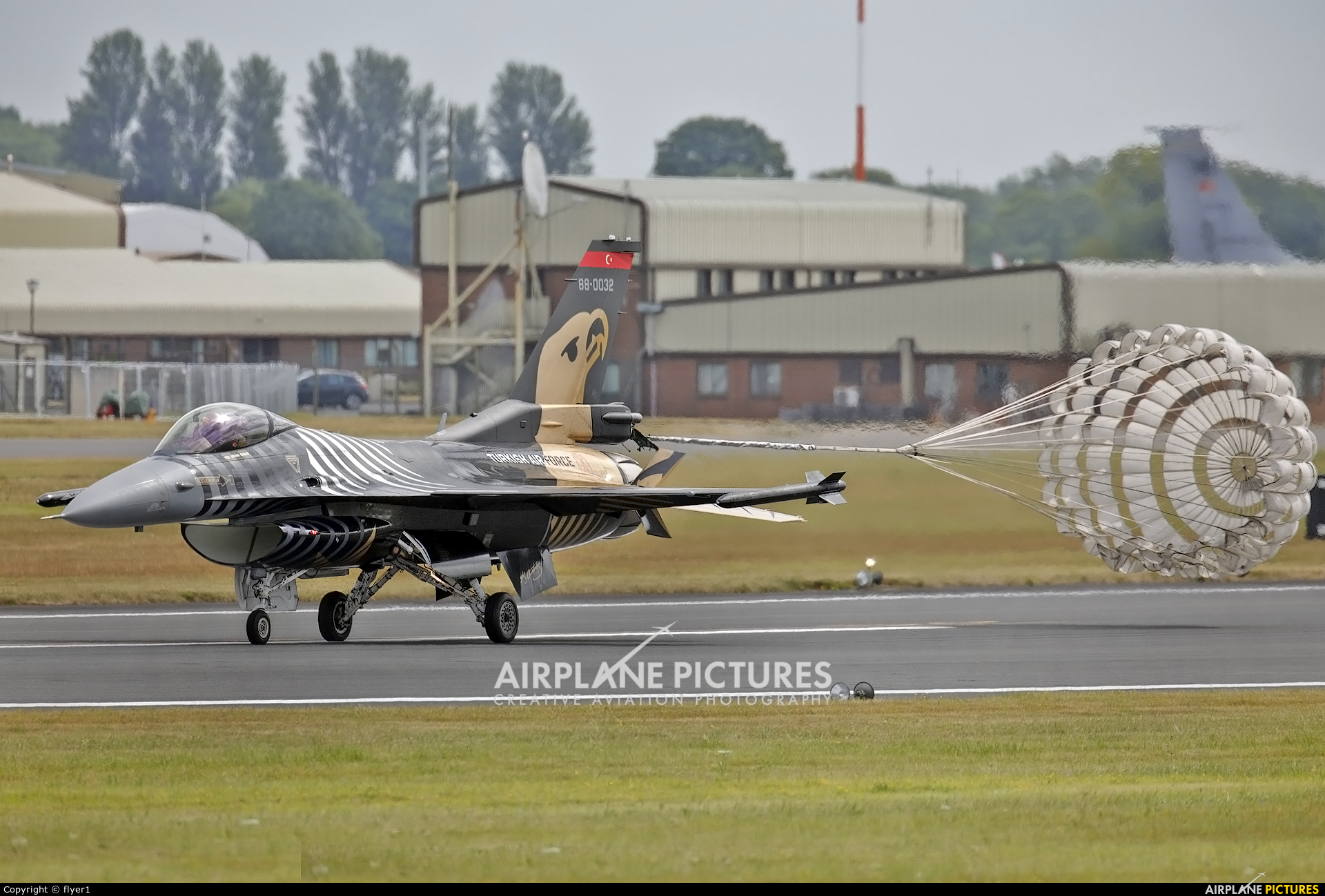 Turkey - Air Force 88-0032 aircraft at Fairford