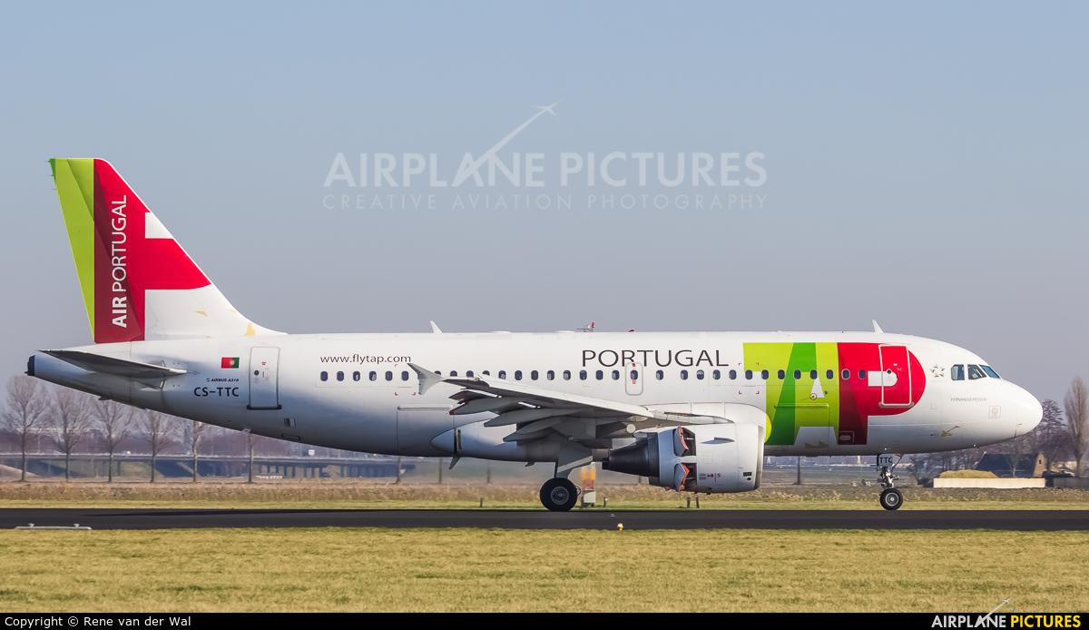 TAP Portugal CS-TTC aircraft at Amsterdam - Schiphol