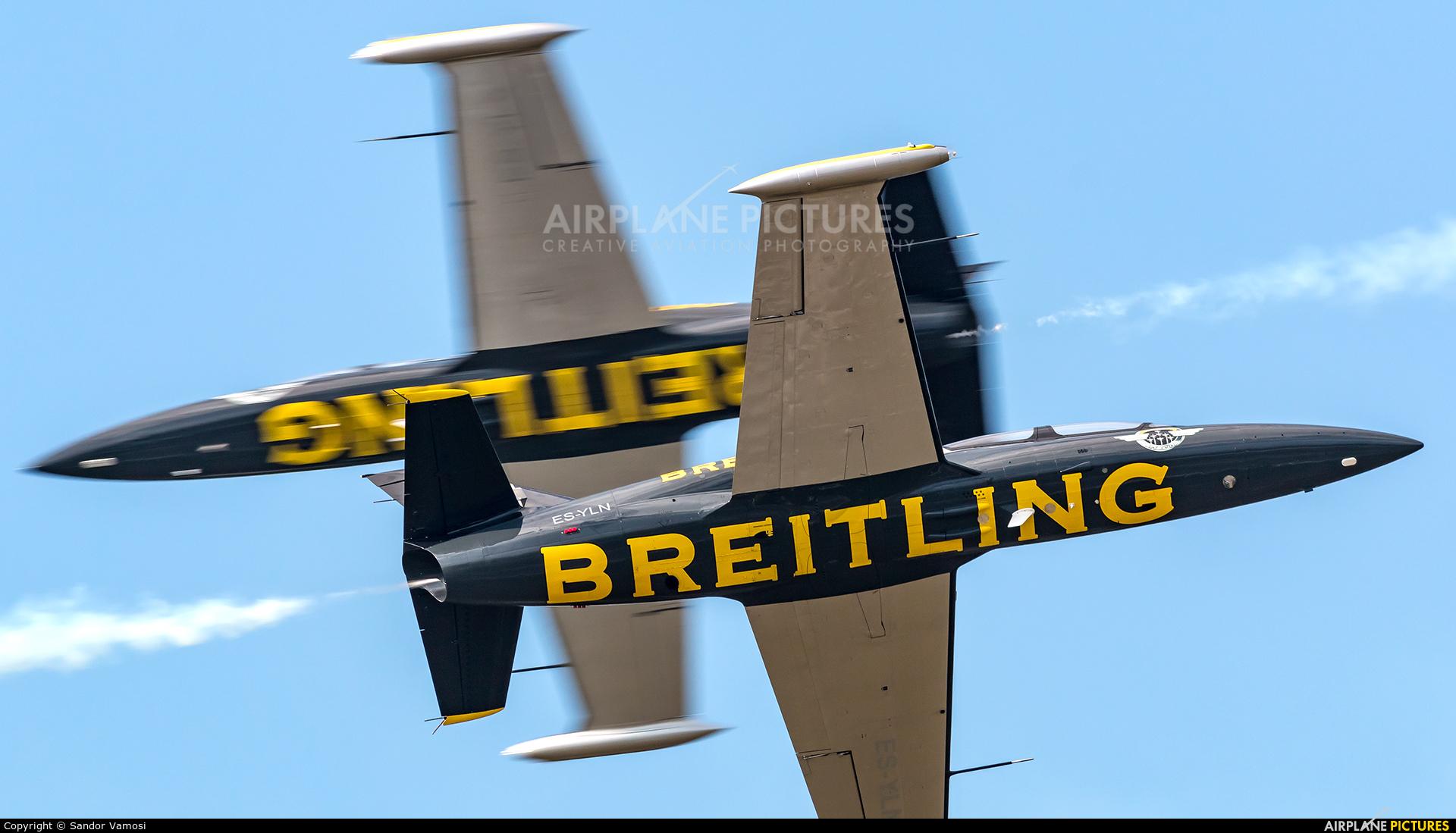 Breitling Jet Team ES-YLN aircraft at Kleine Brogel