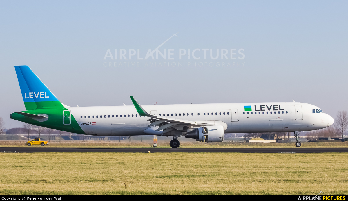 LEVEL OE-LCP aircraft at Amsterdam - Schiphol