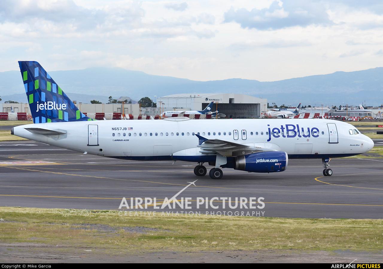 JetBlue Airways N657JB aircraft at Mexico City - Licenciado Benito Juarez Intl