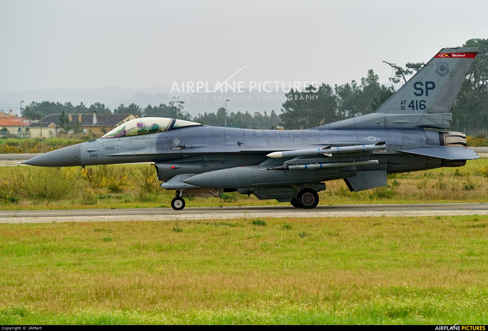 USA - Air Force 91-0416 aircraft at Monte Real