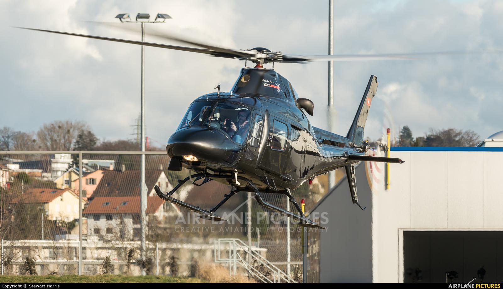 Private HB-ZKO aircraft at Lausanne - La Blécherette